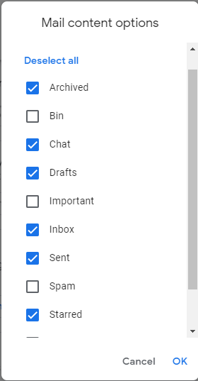 Export Google Mail Data Gmail To Mbox With Google Takeout